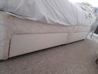 Double Bed with Matress. Very good cond quality mattress.Beeston-Notts