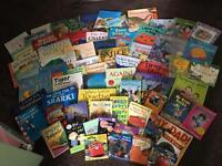 Kids books (68 I think)