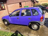 1.2 1993 Vauxhall Corsa. Needs TLC. Want gone ASAP