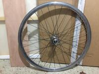 Bike fixie front wheel