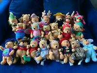 Disney Store Winnie the Pooh beanies