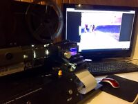 Cine, Video and Photo Transfer & Restoration - Easy to run full or part time.