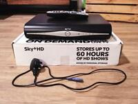 Sky+ HD Box (Never Used) with Remote & Cable