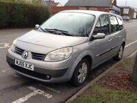 Renault grand scenic. Spares or Repairs. 11 Months MOT