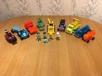 Bob the Builder Vehicles and Figures Bundle