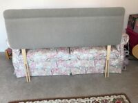 King Sized Headboard, never used, immaculate condition.