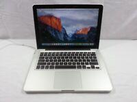 Macbook Pro 13 inch 2011 - 2012 laptop 500gb hd 8gb ram Intel 2.3ghz Core i5 processor