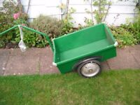 bicycle trailer new from Germany