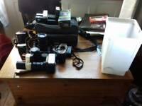 SLR Cameras(not digital)&acessories