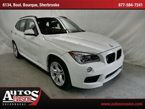 2013 BMW X1 xDrive35i + M SPORT PACKAGE + CUIR ROUGE