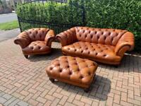 TETRAD OSKAR CHESTERFIELD SUITE SEE ADD UK 🇬🇧 DELIVERY 🚚