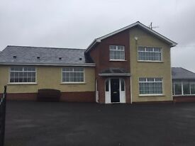 EXCELLENT SPACIOUS 4 BED HOUSE TO-LET - DERRYHAW ROAD, TYNAN