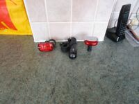 Front And Rear Bike Lights Brand New Unused £20 No Offers!