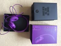 Beats Solo2 Royal Edition Imperial Violet, Boxed, carry pouch
