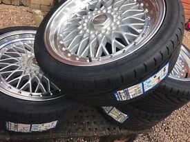 "DARE RS brand new Alloy wheels 18"" inch x 8j 5x114.3 225 40 18 Nissan 300 350 370 Juke alloys wheel"