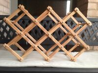 Wine Rack - Pine Wood