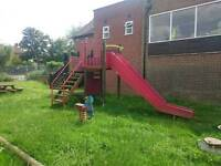 Childrens play park/ swing/ climbing frame