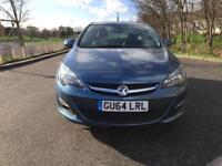 Vauxhall Astra 2014 petrol for service history 1.4 manual low mileage