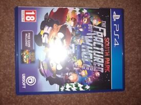 South Park Fractured But Whole PS4 (Like New)