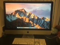 "Late 2012 iMac 27"", i7, 3.4 Ghz 8GB Ram, 1TB SSD Drive"