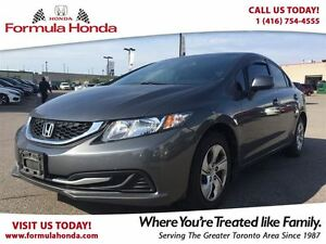 2013 Honda Civic LX | BLUETOOTH | MINT CONDITION