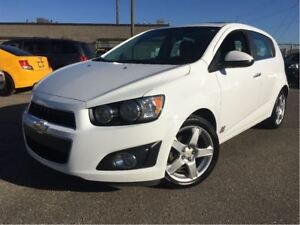 2014 Chevrolet Sonic LT Manual REAR PARKING ASSIST SUN ROOF