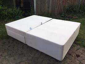 Double divan bed FOR FREE