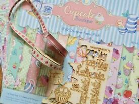 Scrapbook massive pack papers stamples and more