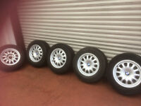 5 OF BMW ALLOYS 225/60/R15