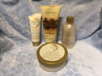 New AVON planet spa Caribbean Escape set + chocolate body scrub
