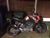 ktm duke 125 with abs KTM DUKE ABS MINT CONDITION road legal