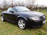 Audi TT Roadster Convertible Low Miles 81k FSH Leather Very Original