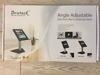 Brateck Angle Adjustable Anti-Theft IPad Counter Top Stand