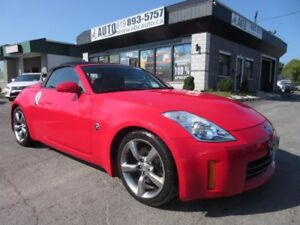 2009 Nissan 350Z Convertible Cabrio Black top, Automatic, Heated