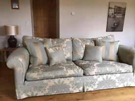 Large Luxury Duresta Four Seater Sofa