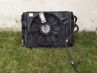 BMW E60 5 series 520d complete radiator pack with fan