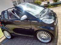 Stunning Convertible Smart mint condition low mileage 2 lady owners mot v5 and tax on place