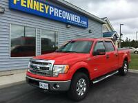 2013 Ford F-150 4x4 SuperCrew 145 in