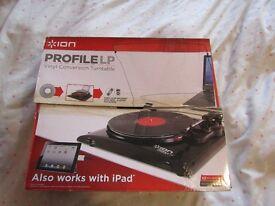 ION Profile LP Vinyl Conversion Turntable