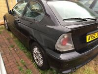 2002 Bmw compact 316ti breaking for parts