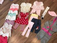 Girls Clothes Bundle 6-9 Months
