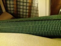 Used carpet underlay and grippers