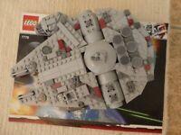 Lego Starwars 7778 Midi-scale Millennium Falcon 100%. Complete