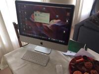 "Apple iMac 24"" SSD 500GB 6GB RAM Wireless keyboard and apple mouse 2"