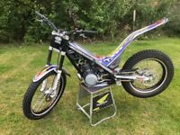 Sherco 290 trials bike, 2008, excellent condition