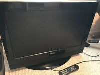 TV flatscreen tv with freeview. Full working order. 26 inchs