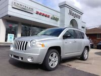 2010 Jeep Compass NORTH EDITION,4X4,MANUAL,LOW KM,