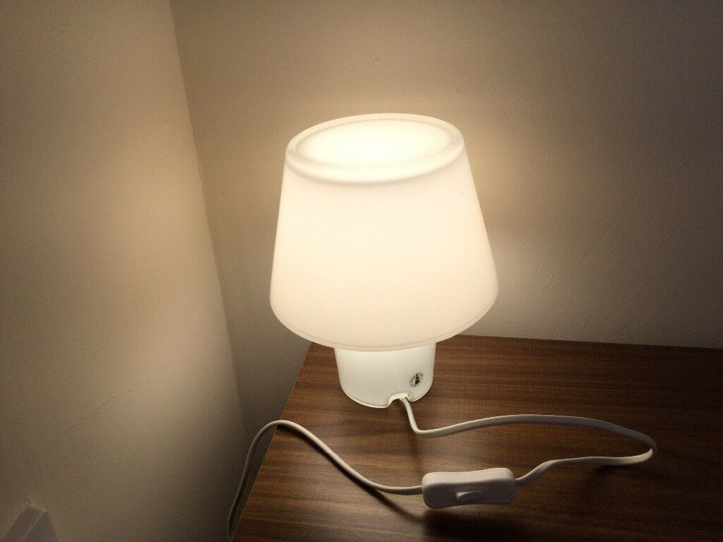 Glass bedside or table lamp | in Riverside, Cardiff | Gumtree