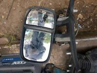 Iveco Daily driver side wing mirror. 2008 model.