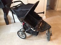 Out and About 'Nipper 360' double pushchair